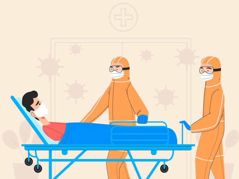 รวมหน่วยงานขอความช่วยเหลือ หาเตียงผู้ป่วยโควิด